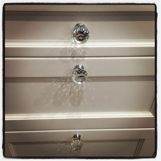 dariapogo's photo on Instagram Beautiful crystal knobs