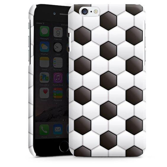 Football Pattern für Premium Case (glänzend) für Apple iPhone 6 von DeinDesign™