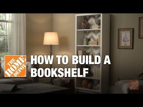 foto de DIY Bookshelf – Simple Wood Projects | The Home Depot - YouTube ...