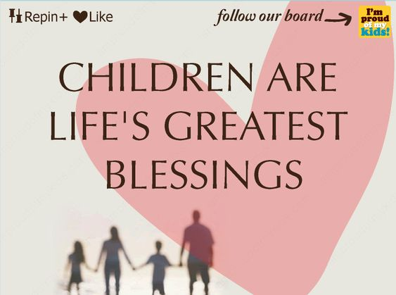 children are life 39 s greatest blessing inspirational