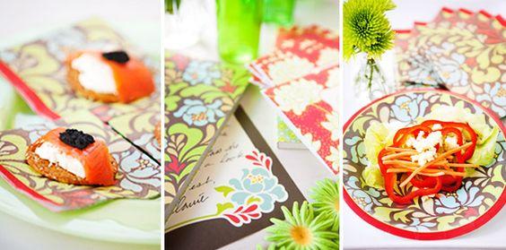 des motifs, et encore des motifs, sur tissus, papier...