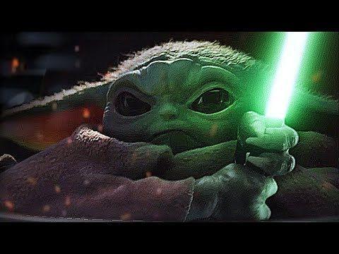 The Mandalorian S Break Out Star Baby Yoda Fights Emperor Palpatine Aka Darth Sidious In A Brilliant New Star Wars Revenge Of Star Wars Baby Yoda Drawing Yoda