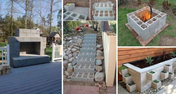 14 Genius Ways To Use Cinder Blocks In Your Home And Garden. #11 , How Didn't I Know About It?