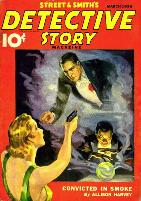 Detective Story Magazine - March 1938