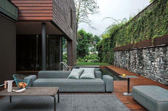 Basket Outdoor Sofa U2014 RODA Outdoor | U2014 Furniture Design | Pinterest |  Outdoor Sofa, Large Cushions And Exterior