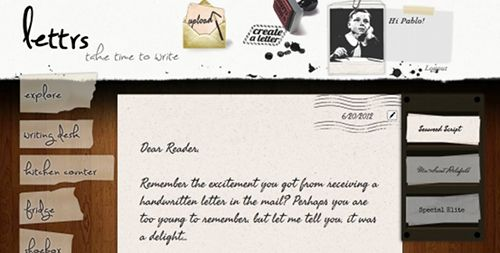 The personality of snail mail meets the ease of email in the form of Lettrs!