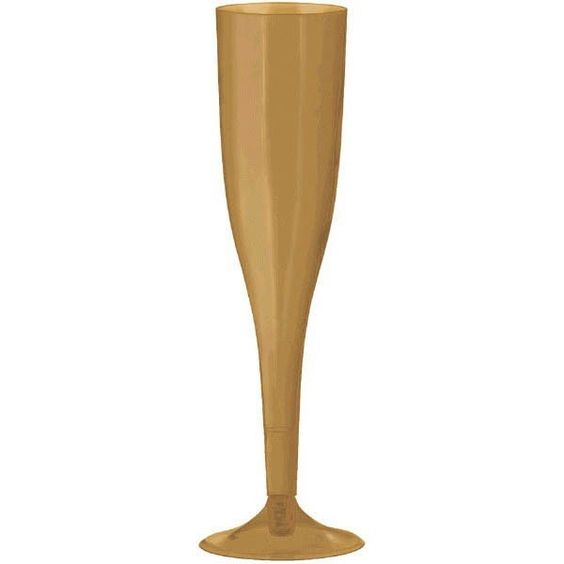 Gold Premium Plastic Champagne Flutes 160ml Pack of 18 by http://www.weeabootique.co.uk : https://goo.gl/Ol0nBU