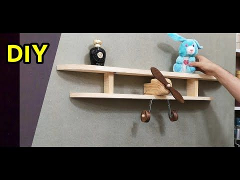 إصنع رف مبتكر من الخشب الطبيعي Youtube In 2021 Floating Shelves Home Decor Decor