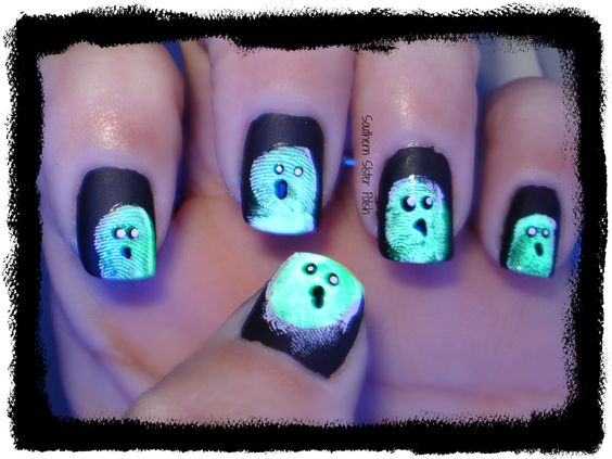 Southern Sister Polish: 13 Day's of Halloween.... Day 10 Ghosts