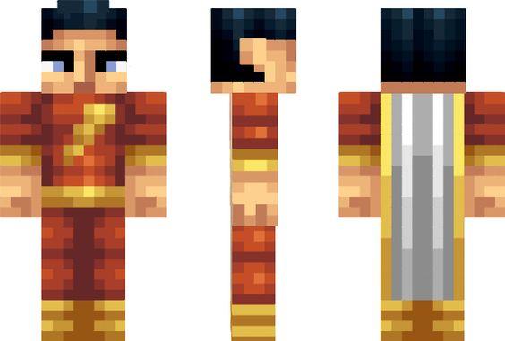 Minecraft Skins Captain Marvel And Minecraft On Pinterest
