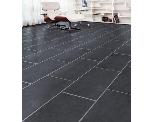 Laminat Natural Touch 80 Schiefer schwarz Fliese Ideen rund ums - wohnzimmer fliesen schwarz