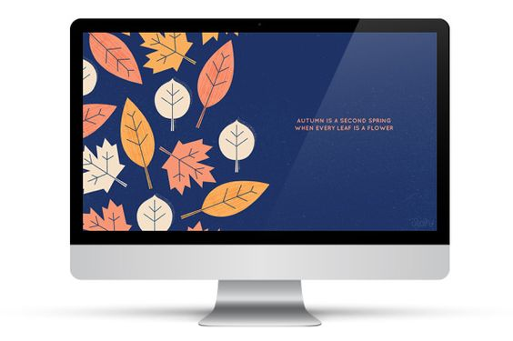Navy and orange tones wallpaper for your desktop or cell phone