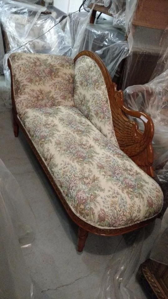 Recamier Futon Couch Chaise Lounge