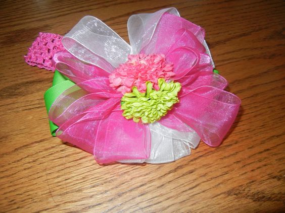 Build A Bow....6 pieces to create one beautiful bow