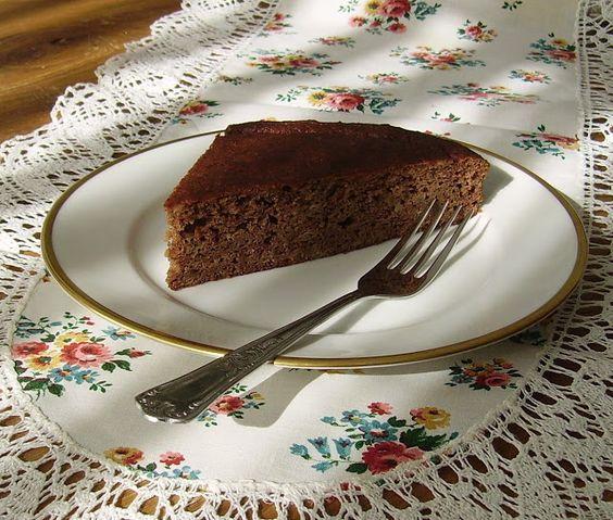 Mia's Glutenfreie Gaumenfreuden: Kastanien-Apfelmus-Kuchen (glutenfrei, milchfrei, Paleo-tauglich)