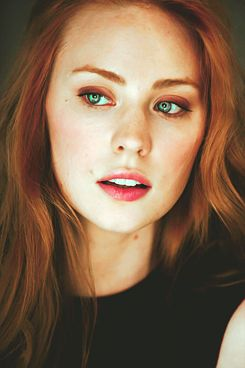 Faith NightStar, Cardinal F-Psy and mate to Vaughan D'Angelo, in Visions of Heat. (Deborah Ann Woll)
