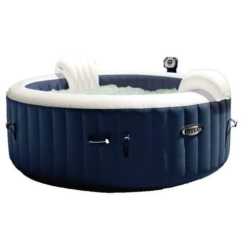 Intex Pure Spa 4 Person Inflatable Portable Heated Bubble Jacuzzi