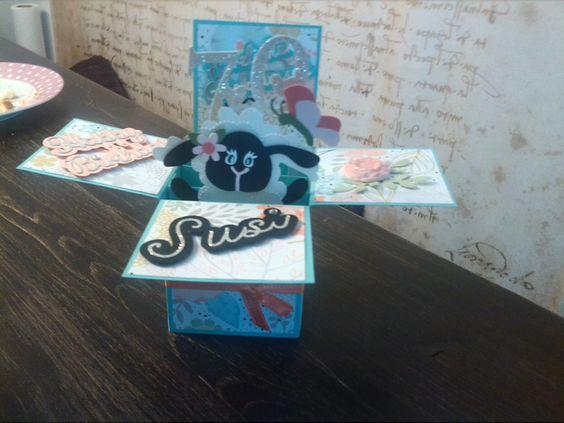 Geburtstags Box card