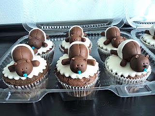 Cute Teddy Bears Cupcakes!:
