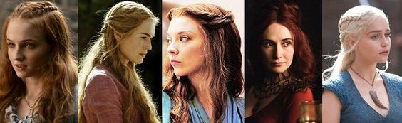 Tutorial for hairstyles of the women on GoT Hair hairstyle games | hairstyles