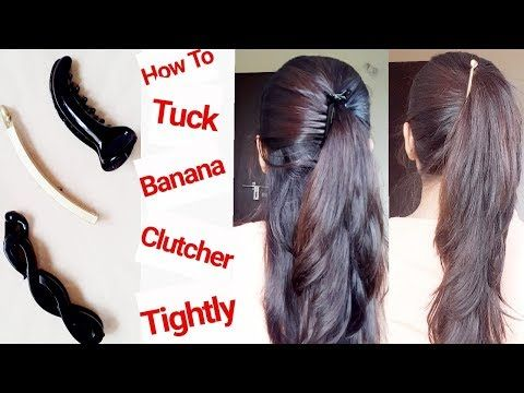 How To Use Tuck Hair Clutcher To Get 6 Instant Hair Bun Everyday Hairstyles Alwaysprettyuseful By Pc Hair Styles Banana Clip Hairstyles Ladies Hair Style Video