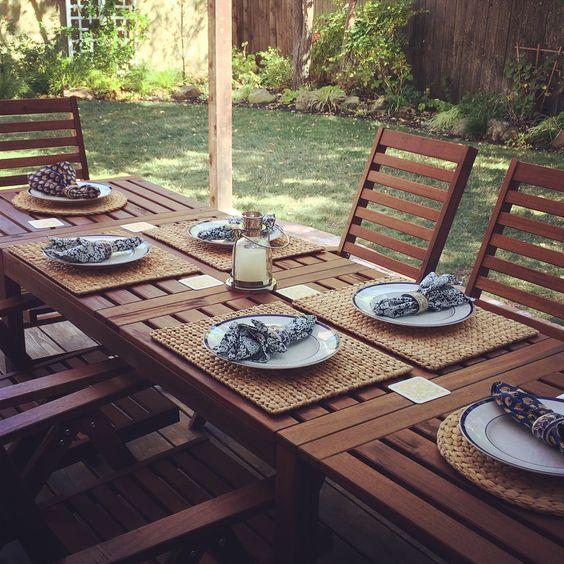 ikea applaro outdoor furniture eccleston pinterest. Black Bedroom Furniture Sets. Home Design Ideas