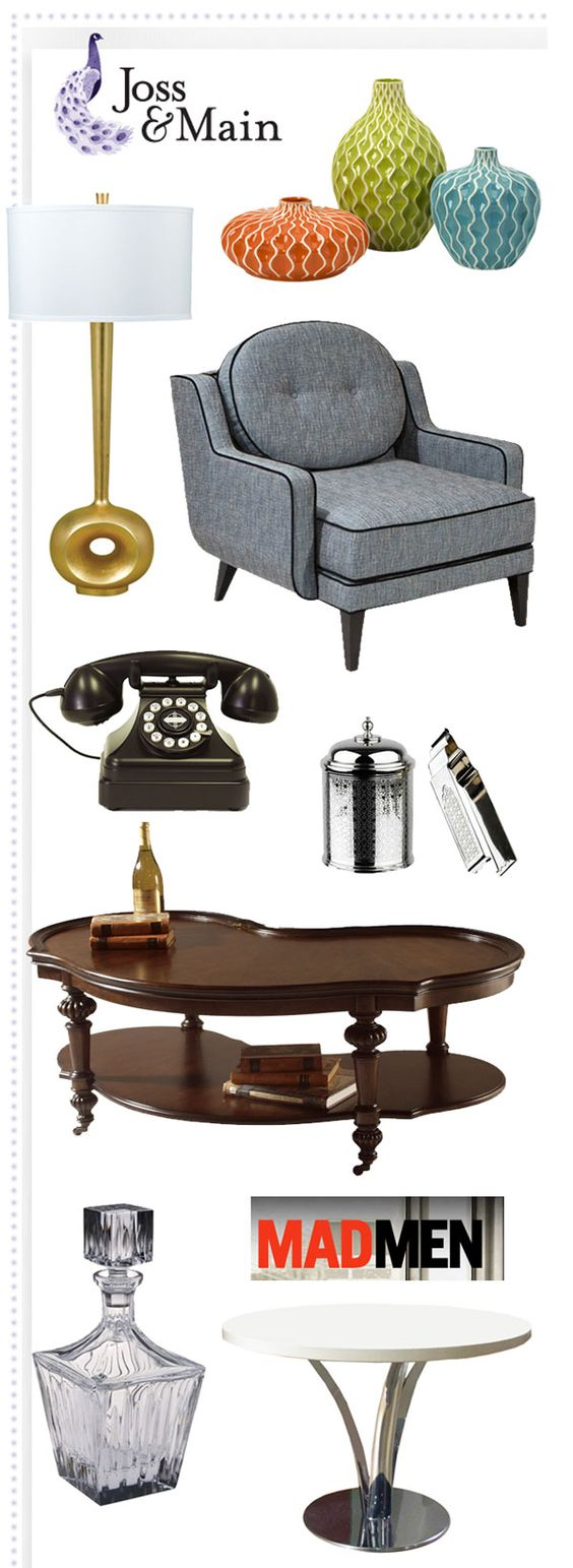 Furniture Events and Mad men on Pinterest