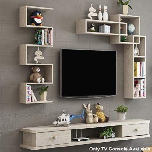 flottante etagere mural meuble tv