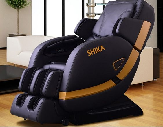 Ghế massage Shika SK 8902 tác động công nghệ 3D lên toàn cơ thể
