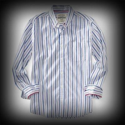 Aeropostale メンズ シャツ エアロポステール Long Sleeve Striped Woven Shirt シャツ-アバクロ 通販 ショップ-【I.T.SHOP】 #ITShop