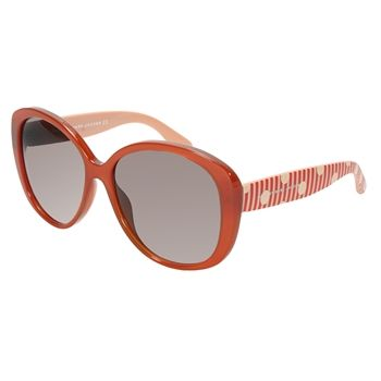 Marc by Marc Jacobs Oversize Round Sunglasses with Dot Detail #VonMaur #MarcJacobs #Orange #Black #PolkaDots