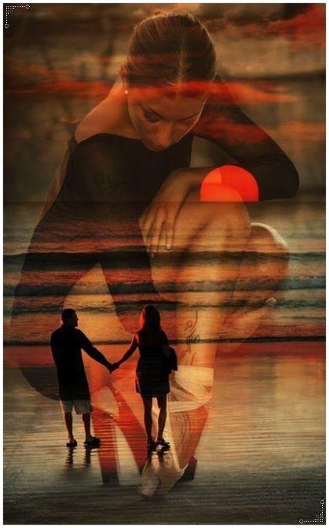Mensagens e gifs românticas: A vida nos acontece...