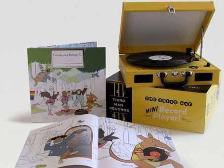 Canal Electro Rock News: Jack White lança kit infantil com vitrola