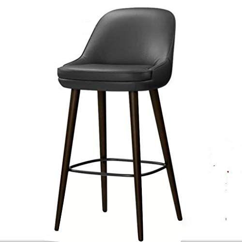 Xingping Simple Solid Wood Bar Chair Designer Modern Fashion Bar