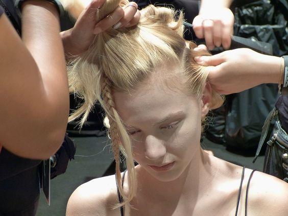 Irene Luft Spring/Summer 2016 – Mercedes Benz Fashion Week - Backstage - http://olschis-world.de/  #IreneLuft #mbfwb #ss16