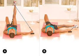 Image result for resistance band glute exercises