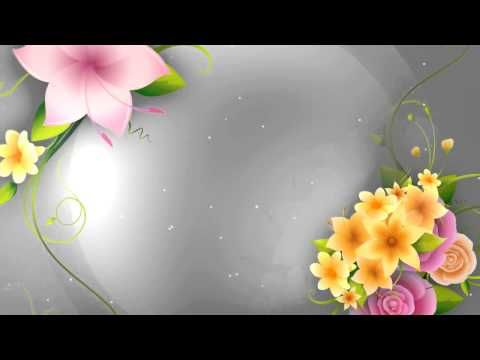 Full Hd Flower Animation Background Youtube Animation Background Background Hd Wallpaper Flower Backgrounds Full hd flower animation background