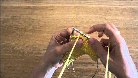Curso de tricot - Querido Tricot: tricotar 2x a mesma malhas em meia (kfb)