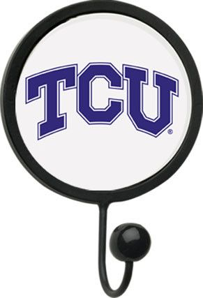 Texas Christian University Round Wall Hook