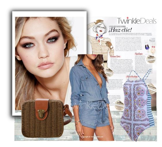 """""""Twinkle Deals 21"""" by difen ❤ liked on Polyvore featuring WallPops, Maybelline and Garance Doré"""