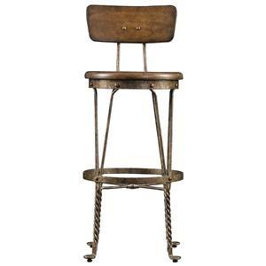 European Farmhouse Artisan's Apprentice Barstool by Stanley Furniture at Baer's Furniture
