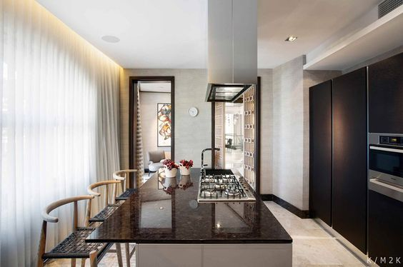 elegant penthouse apartment 1 by keith interior design & m2k, Innenarchitektur ideen
