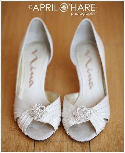 Image detail for -... CO Wedding Photography Nina Shoes with Absolutely Audrey shoe clips
