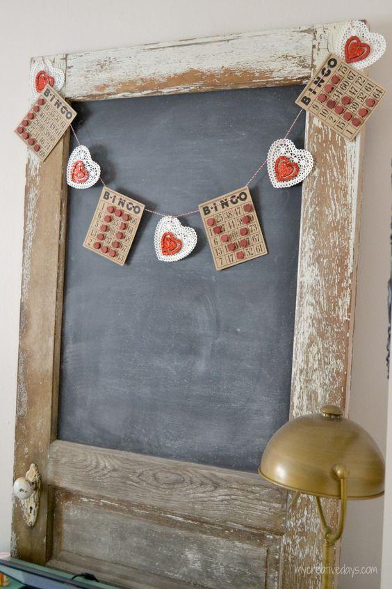 mycreativedays: Vintage Bingo Love Sign
