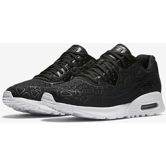 Nike Air Max 90 Ultra Plush Women's Shoe. Nike.com ❤ liked on Polyvore featuring shoes, nike shoes, nike footwear and nike