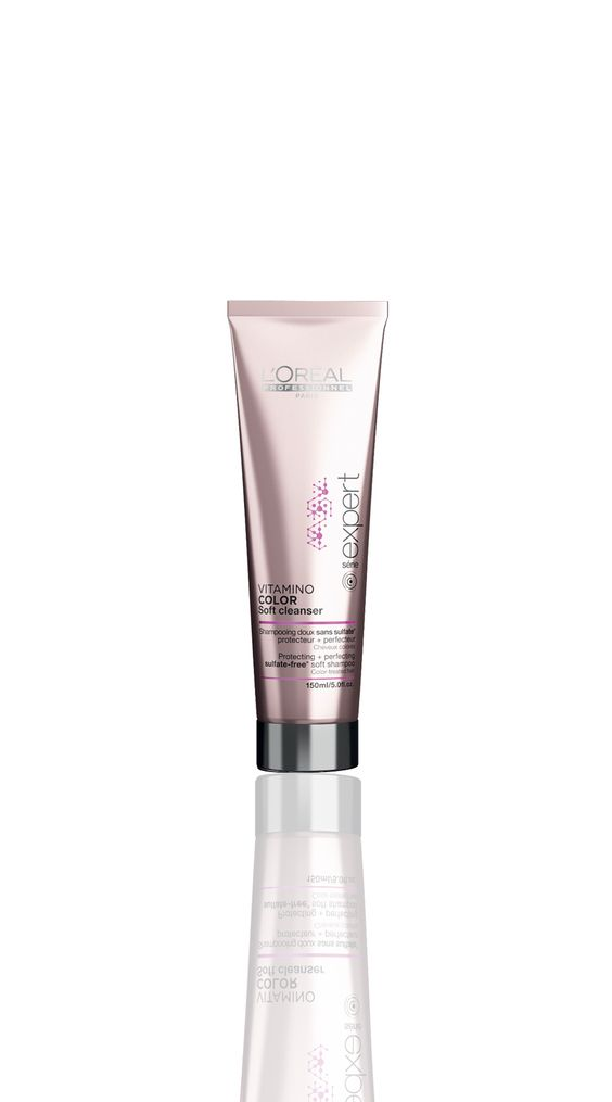 loral professionnel paris srie expert vitamino color soft cleanser protecting perfecting sulfate - Shampooing Vitamino Color