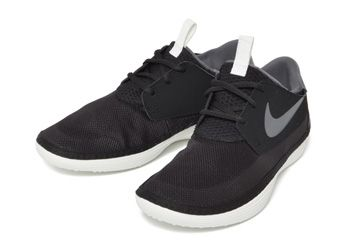 【NIKE】 ナイキ SOLARSOFT MOCCASIN ソーラーソフト モカシン 555301 SM13 001BLK/D.GR/S.WHT 25