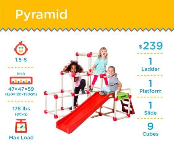 Lil' Monkey - The Jungle Gym that folds in just 10 sec! by Lil' Monkey — Kickstarter