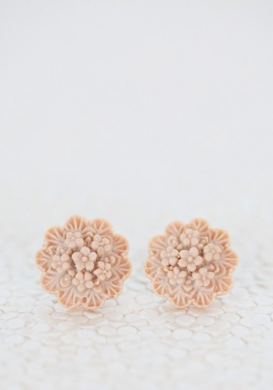 Beautiful Bouquet Indie Earrings By Amano Studio at Shopruche.com.  Love these demure little studs.