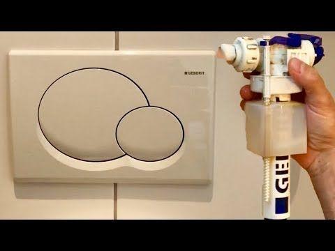Geberit Unterputz Spulkasten Reparieren Entkalken Youtube Reparieren Toilettenspulung Spulkasten Entkalken